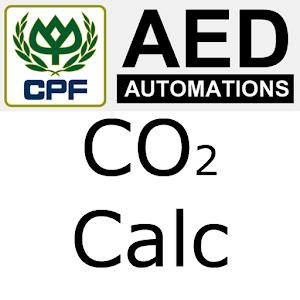 CO2 calculator icon