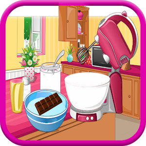 chocolate cake games icon