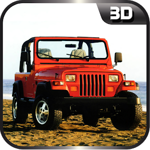 On Road Jeep Drive icon