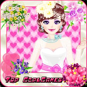Bride in love makeover girls icon