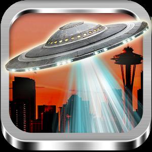 UFO Camera Photo Mock up icon