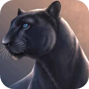 Sighing Panther Live Wallpaper icon