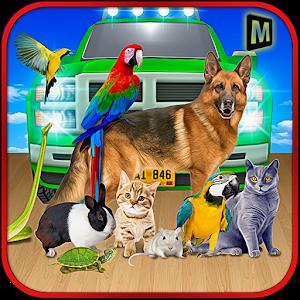 Pet Animal Transport Driving icon