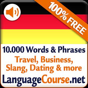 German dating words