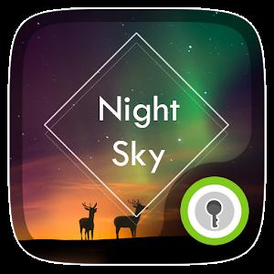 Night Sky Live GO Locker Theme icon