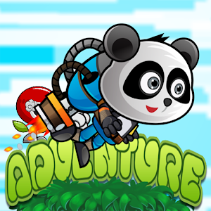 Panda Warior Run The Adventure icon