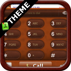GOContacts theme Leather icon