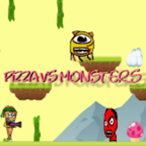 pizza vs monsters icon