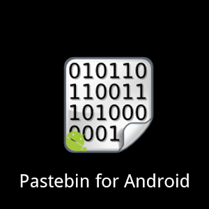 Pastebin for Android icon