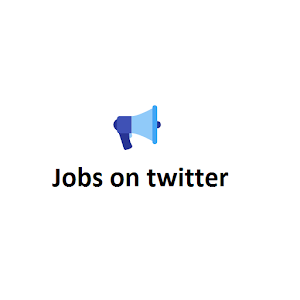Find jobs from twitter feeds icon
