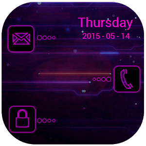Neon Pink Golocker Theme icon