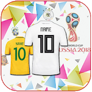 Football Jersey Maker World Cup Russia 2018 icon