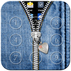Jeans Zipper Lock icon