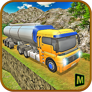 Off Road Oil Truck Driving icon