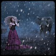 Live Rain Snow Photo Frames icon