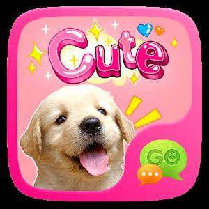 (FREE) GO SMS CUTE STICKER icon