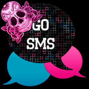 GO SMS - Sugar Skullz icon