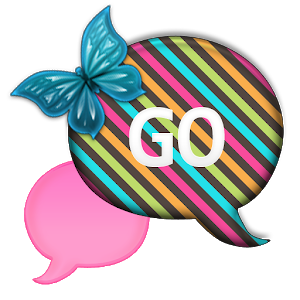 GO SMS - Sweet Rainbow icon