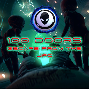 100 Doors. Escape from the UFO icon