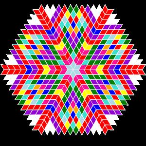 Mandala - zi nastere icon