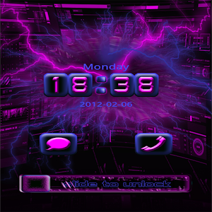 GO Locker Purple Tech icon