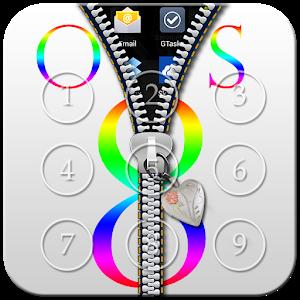 OS 8 Zipper Lock icon