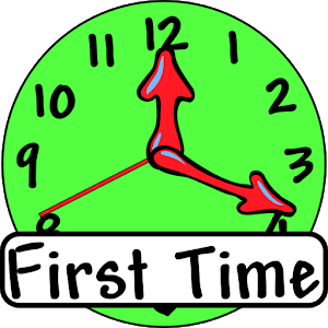 First Time (Clock for kids) icon