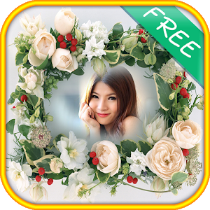 Beautiful Flower photo frames icon