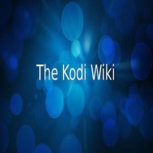 The Kodi Wiki icon