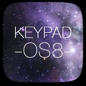 Keypad Lock Screen(Free)-IOS 8 icon
