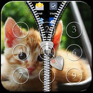 Kitty Cat Zipper Lock icon