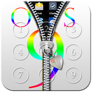 OS 9 Zipper Lock icon