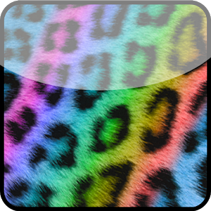 GO Contacts Rainbow Cheetah icon