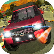 Jeep Driver Car Parking Games icon