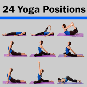 24 Yoga Position Daily Workout icon
