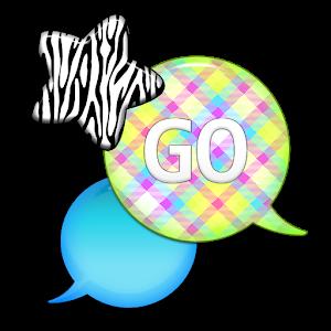 GO SMS - Zebra Star Skies 4 icon
