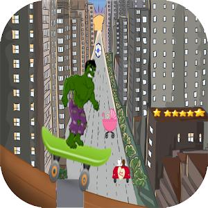 adventure green hero avengers icon