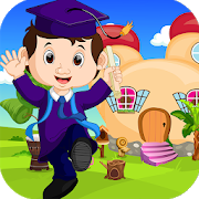 Best Escape Game 452 Graduated Boy 2 Escape Game icon