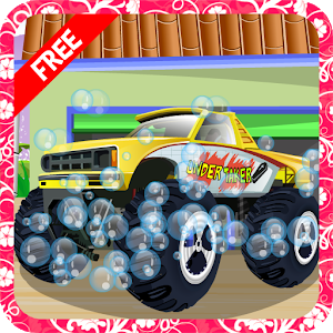 Monster Truck Wash icon