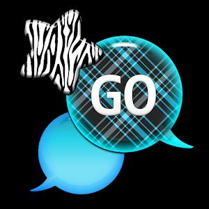 GO SMS - Zebra Star Skies 5 icon