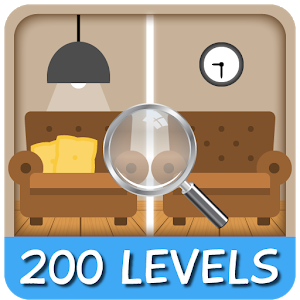 Find the Differences 200 level icon
