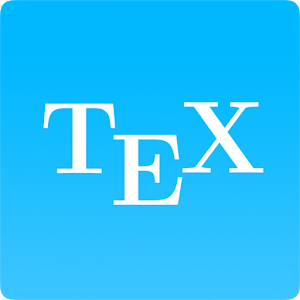 TeX Writer - LaTeX On the Go icon