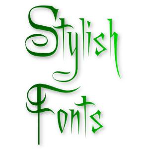 Stylish Fonts - AppRecs