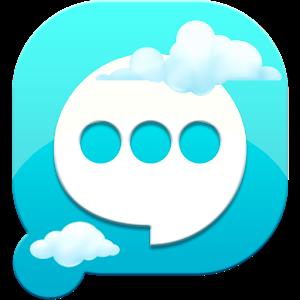 Easy SMS Blue Sky Theme icon
