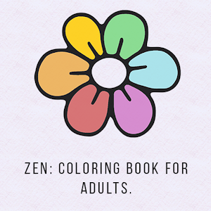 Zen: Coloring book for adults icon