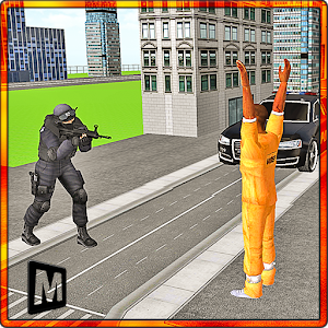 Jail Attack: Counter War icon