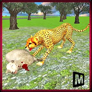 Wild Angry Cheetah Simulator icon