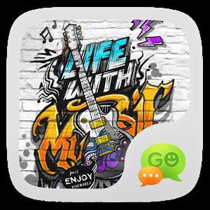 (FREE) GO SMS MUSIC LIFE THEME icon