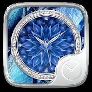 ShiningBlue GO Clock Theme icon