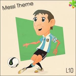 Go Locker Theme Messi icon